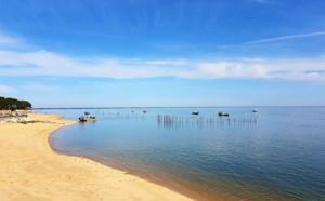 La plage de Grand Piquey