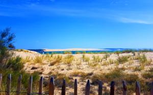 La dune du Pilat au détour d'un chemin