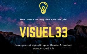 Enseignes et signalétique Visuel33 - Fabrication et installation