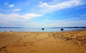 Sur la presqu'île du Cap Ferret, des paysages reposants