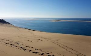 Vidéo du haut de la dune