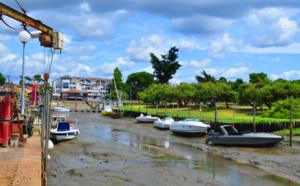 Port de Cassy à marée basse