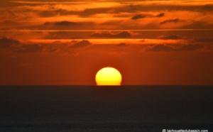 Vidéo d'un coucher de soleil depuis la dune
