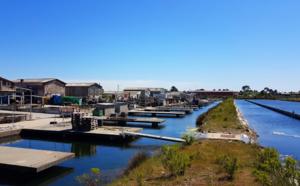 Le port de Meyran à Gujan-Mestras