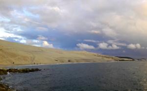 Dune du Pilat par temps couvert