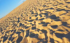 """Dune du Pilat : """"Mont-Blanc par son sable"""""""