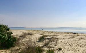 Vue sur la dune depuis la pointe