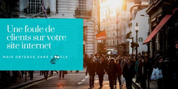 comment générer du trafic sur un site web sanas référencement Google